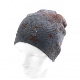 Strick-Mütze mit Nieten