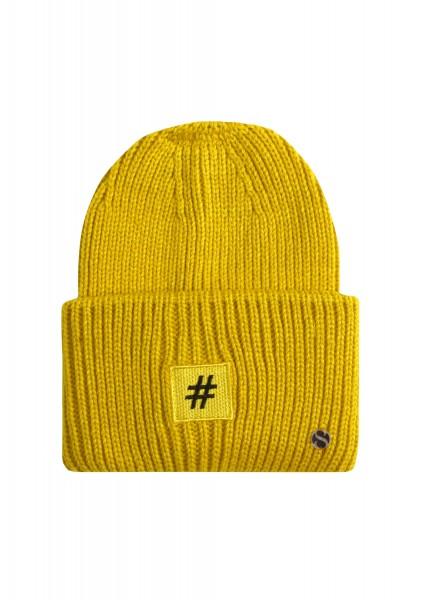 Strick-Mütze Hashtag