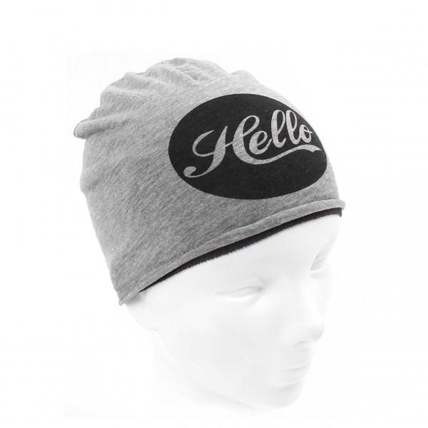 Jersey-Beanie Hello