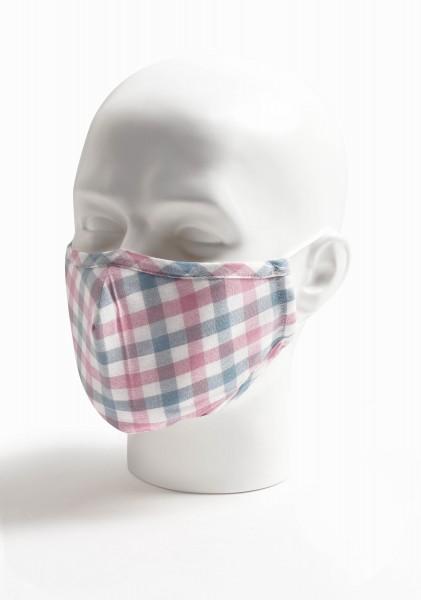 Mund-Nasen-Maske Karo