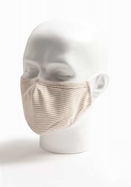 Mund-Nasen-Maske Streifen