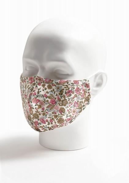 Mund-Nasen-Maske Streublumen